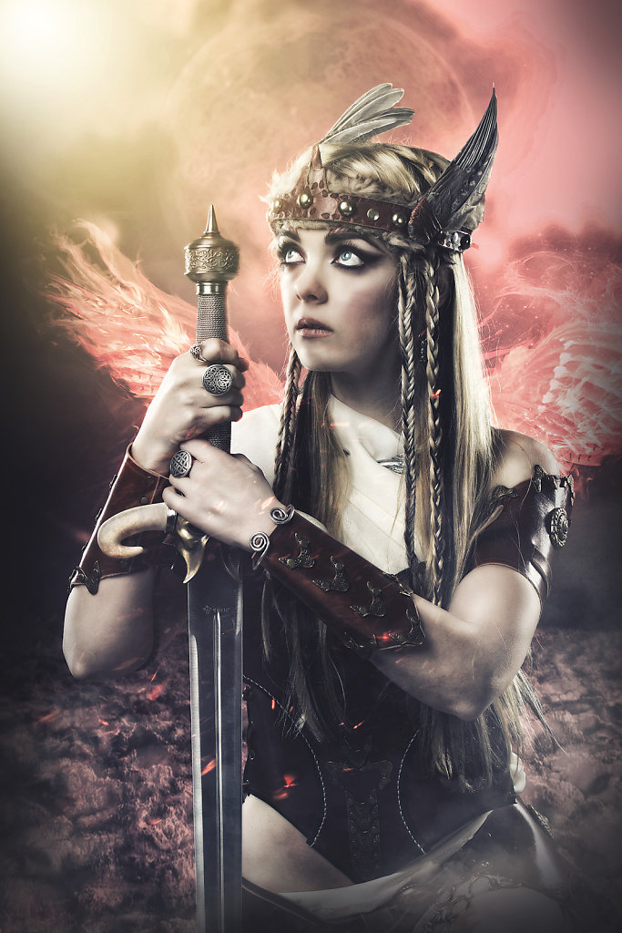 valkyrie-fantasy photography-alternative