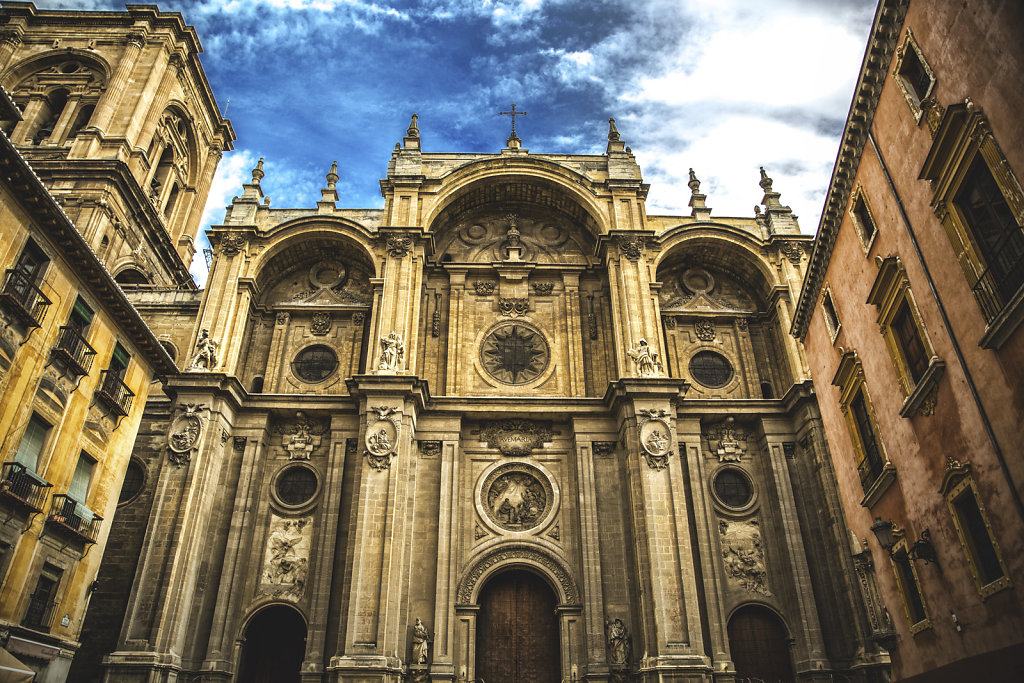 architecture photography-granada-cathedral
